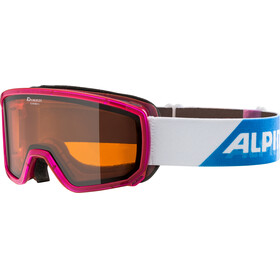Alpina Scarabeo S DH Goggles pink translucent